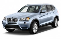 2011 BMW X3 AWD 4-door 28i Angular Front Exterior View