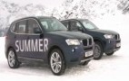 Video: BMW Shows Importance Of Using Correct Tires This Winter