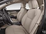 2011 Buick Regal 4-door Sedan CXL RL3 Front Seats