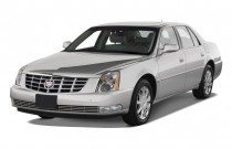 2011 Cadillac DTS 4-door Sedan Base Angular Front Exterior View