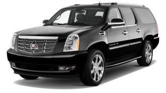 2011 Cadillac Escalade ESV AWD 4-door Base Angular Front Exterior View