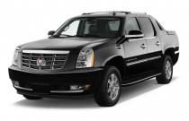 2011 Cadillac Escalade EXT AWD 4-door Base Angular Front Exterior View