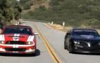 Video: 600 Horsepower Firebreather Camaro vs. 2011 Shelby GT500