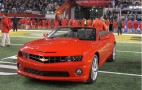 Super Bowl MVP Aaron Rodgers Wins 2011 Chevrolet Camaro Convertible