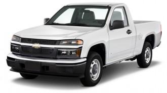 "2011 Chevrolet Colorado 2WD Reg Cab 111.2"" LT w/1LT Angular Front Exterior View"