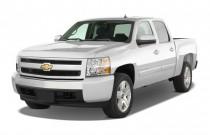 "2011 Chevrolet Silverado 1500 2WD Crew Cab 143.5"" LT Angular Front Exterior View"