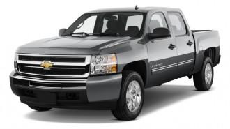 "2011 Chevrolet Silverado 1500 Hybrid 4WD Crew Cab 143.5"" 2HY Angular Front Exterior View"