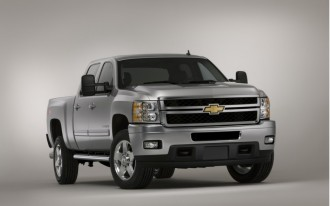 Chevrolet Silverado HD Exhaust Brake System.