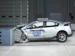 2011 Chevrolet Volt in IIHS crash test