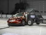 2011 Chevrolet Volt during IIHS crash testing