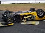 2011 Corvette Grand Sport destroyed in horrific DUI crash. Image: News10