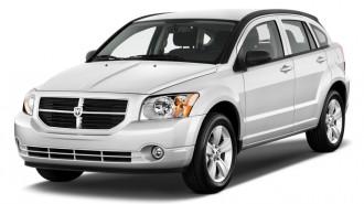 2011 Dodge Caliber 4-door HB Mainstreet Angular Front Exterior View