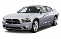 2011 Dodge Charger 4-door Sedan RT Max RWD Angular Front Exterior View