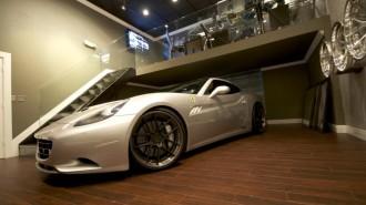 DMC Ferrari California 3S Silver Carbon