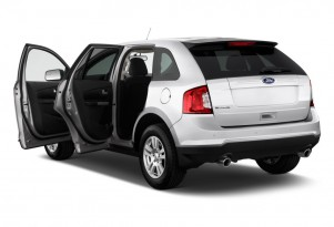 2011 Ford Edge 4-door SE FWD Open Doors