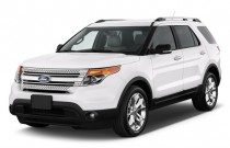 2011 Ford Explorer FWD 4-door XLT Angular Front Exterior View