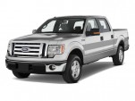 "2011 Ford F-150 2WD SuperCrew 145"" XLT Angular Front Exterior View"