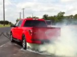 2011 Ford F-150 EcoBoost burnout