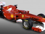 2011 Ferrari F150 Formula 1 race car