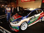 2011 Ford Fiesta RS WRC rally car