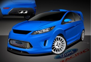 2011 Ford Fiesta concepts for 2010 SEMA show