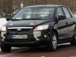 2011 Ford Focus test mule spy shot