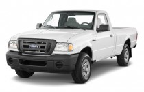 "2011 Ford Ranger 2WD Reg Cab 112"" XL Angular Front Exterior View"