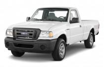 "2011 Ford Ranger 2WD Reg Cab 112"" XL Angular Front Exterior View"