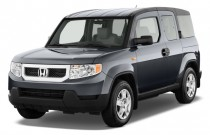 2011 Honda Element 2WD 5dr LX Angular Front Exterior View