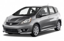 2011 Honda Fit 5dr HB Auto Sport w/Navi Angular Front Exterior View