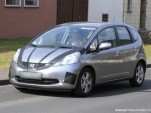 2011 Honda Fit Hybrid spy shots