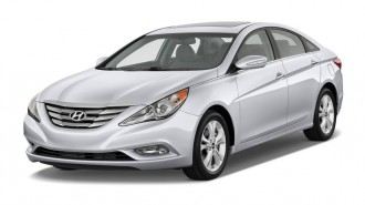 2011 Hyundai Sonata 4-door Sedan I4 Auto Limited Angular Front Exterior View