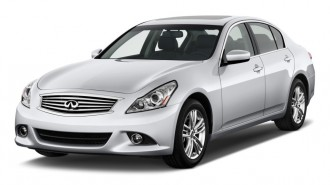 2011 Infiniti G25 Sedan 4-door Journey RWD Angular Front Exterior View