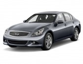2011 Infiniti G37 Sedan 4-door Journey RWD Angular Front Exterior View