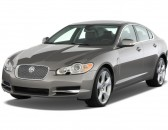 2011 Jaguar XF 4-door Sedan XF Supercharged Angular Front Exterior View
