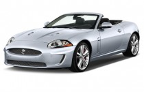 2011 Jaguar XK 2-door Convertible XKR Angular Front Exterior View