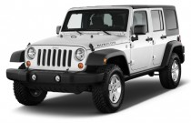 2011 Jeep Wrangler Unlimited 4WD 4-door Rubicon Angular Front Exterior View