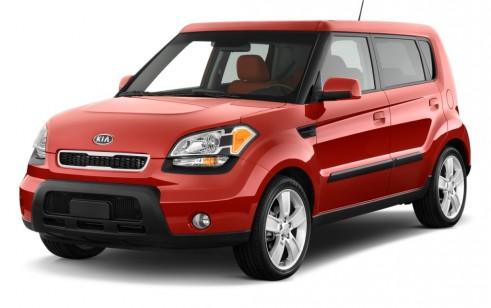 2011 Kia Soul 5dr Wagon Auto Sport Angular Front Exterior View