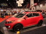 2010 SEMA: 2011 Kia Sportage Work and Play live photos