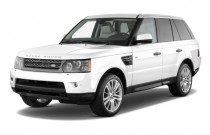 2011 Land Rover Range Rover Sport 4WD 4-door HSE Angular Front Exterior View