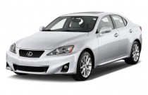 2011 Lexus IS 250 4-door Sport Sedan Auto AWD Angular Front Exterior View