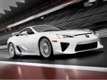 2011 Lexus LF-A leak