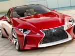 2011 Lexus LF-LC Concept leaked