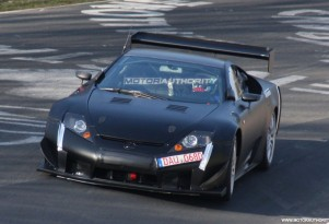2011 lexus lfa spy shots april 001