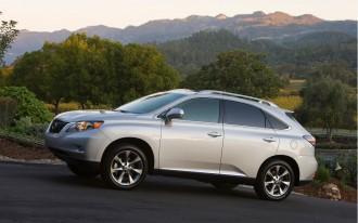 2011 Lexus RX 350: Recall Alert