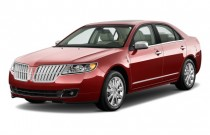 2011 Lincoln MKZ 4-door Sedan AWD Angular Front Exterior View