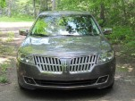 2011 Lincoln MKZ Hybrid on test in upstate New York, July 2011