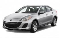 2011 Mazda MAZDA3 4-door Sedan Auto i Sport Angular Front Exterior View