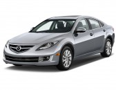 2011 Mazda MAZDA6 4-door Sedan Auto i Grand Touring Angular Front Exterior View
