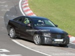 2011 Mercedes-Benz C-Class Coupe spy shots